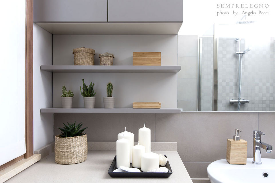 Bathroom Shelves and Wall Cabinet