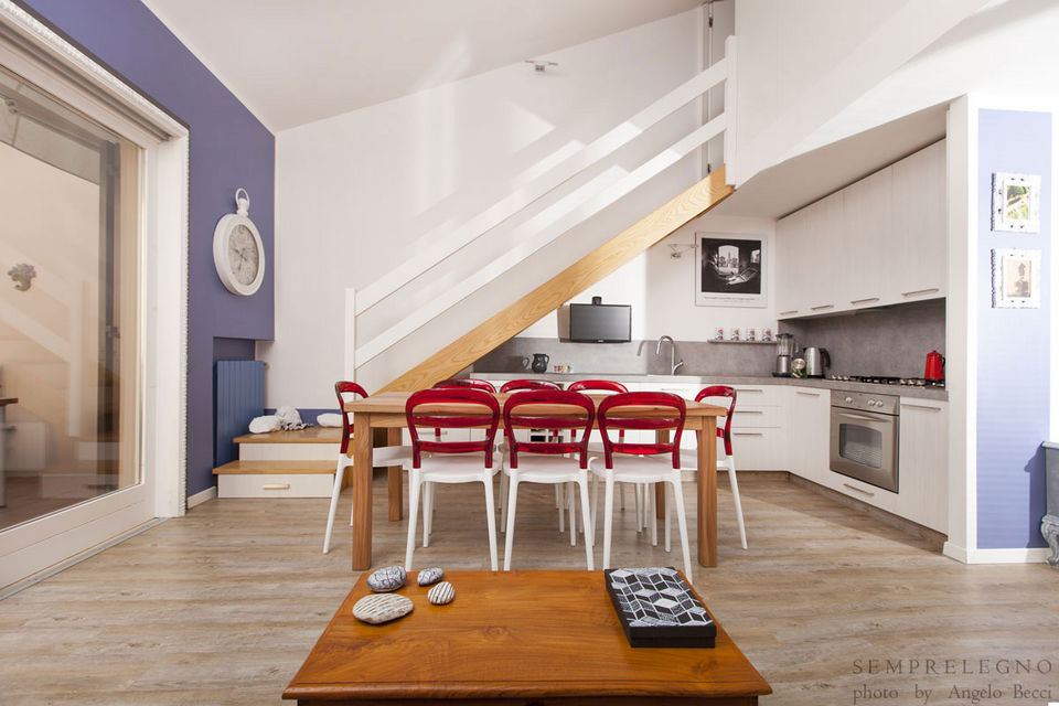Kitchen Furniture and Staircase